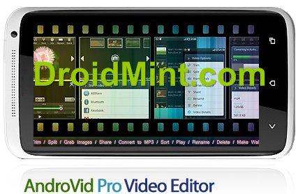 AndroVid Pro 2.3.3(Video Editor)